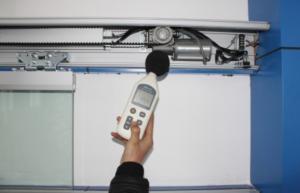 automatic door motor test