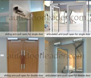 swing door opener project