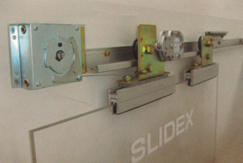 Semi automatic sliding door opener