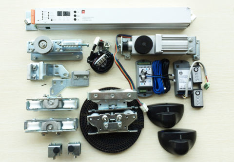 electric sliding door kit