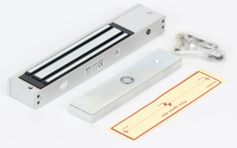 Electromagnetic swing door lock