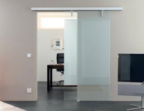 linear magnetic drive sliding door opener