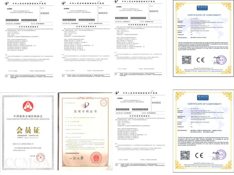 door operator certificate
